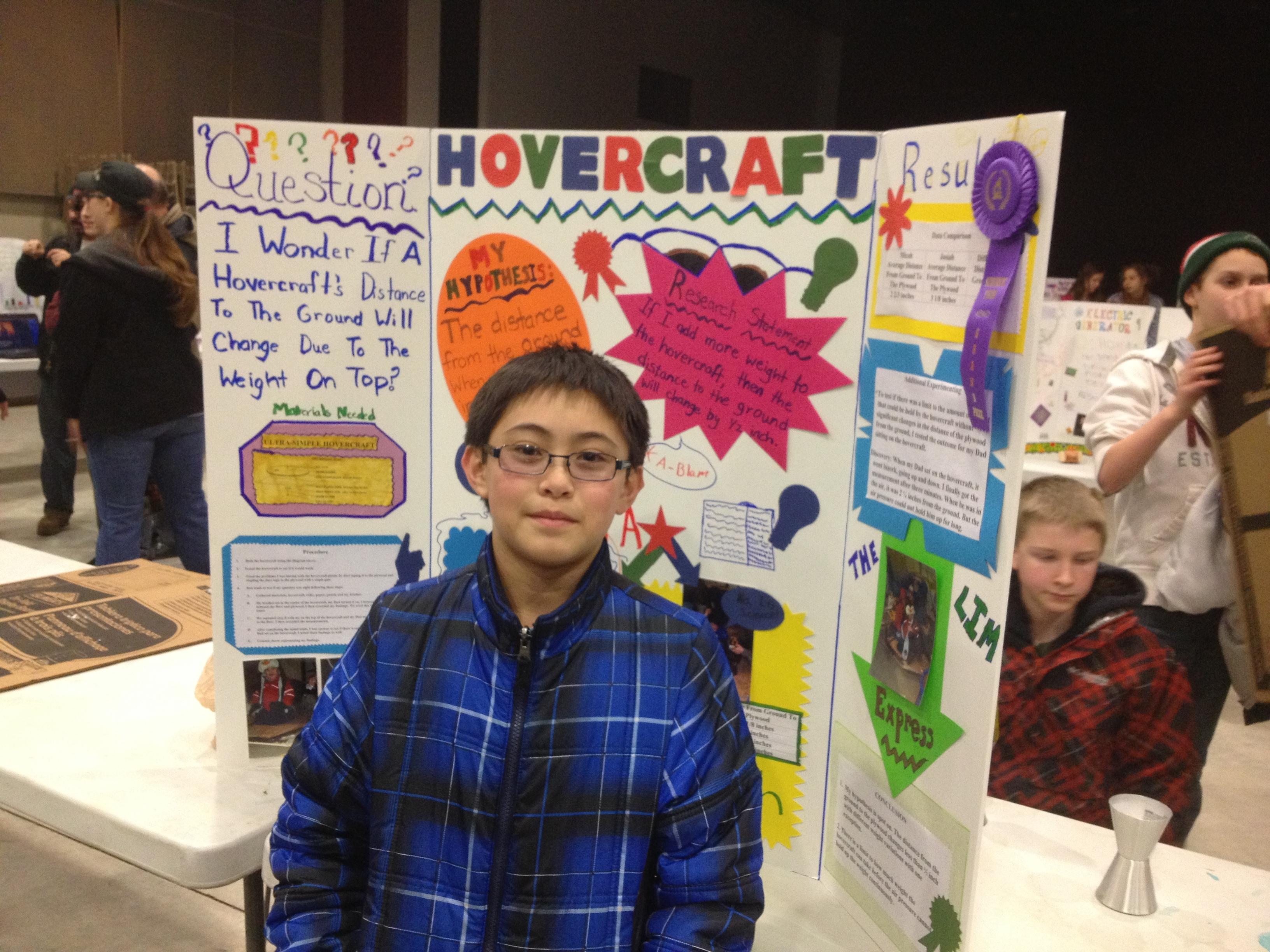 hovercraft science project Mini hovercraft: air is invisible but  to incredible science chemical reactions,  or if you are a kid looking for a really cool science project,.