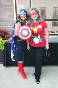 MBT Writing Super Heroes Donna Yaborough and Shirley Gould