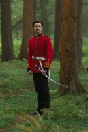 "Tom Sturridge as ""Sergeant Troy"" in FAR FROM THE MADDING CROWD. Photos by Alex Bailey.  © 2014 Twentieth Century Fox Film Corporation All Rights Reserved"